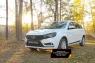 Защитная сетка решетки переднего бампера Lada (ВАЗ) Vesta SW 2018-