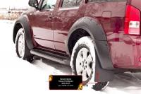 Брызговики под расширители колесных арок артикул: RNPF-047602 Nissan Pathfinder 2011-2013 (R51 рестайлинг)