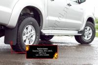 Брызговики Toyota Hilux 2013-2015