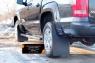Брызговики (широкие) с выносом 50мм Volkswagen Amarok 2010-2016 (I дорестайлинг)