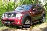 Комплект расширителей колесных арок с молдингами на двери Nissan Pathfinder 2004-2010 (R51)