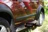 Комплект расширителей колесных арок с молдингами на двери (узкие) Nissan Pathfinder 2004-2010 (R51)