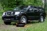 Молдинги на двери широкие Nissan Navara 2005-2010