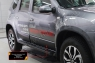 Молдинги на двери Nissan Terrano 2016-