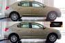 Молдинги на двери Renault Logan 2014-2017 (II дорестайлинг)