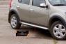 Молдинги на двери узкие Renault Sandero Stepway 2009-2013