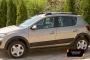 Молдинги на двери Renault Sandero Stepway 2014-