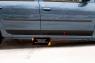 Молдинги на двери  Renault Logan 2010-2013