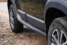 Расширители колесных арок с молдингами на двери Renault Duster 2010-2014 (I поколение)