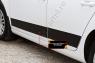 Молдинги на двери (вариант 2) Volkswagen Golf VI 2009-2012
