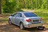 Накладка на задний бампер Toyota Corolla (седан) 2010-2013