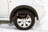 Накладки на колёсные арки Great Wall Hover H2 2005-2010