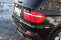 Накладка на задний бампер BMW X5 (E70) 2010-2013 (II рестайлинг)