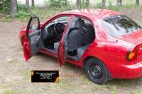 Накладки на внутренние пороги дверей Chevrolet Lanos 2005-2009