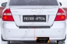 Накладка на задний бампер Chevrolet Aveo седан 2007-2012