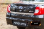 Накладка на задний бампер Datsun on-DO 2014-