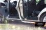 Накладки на внутренние пороги дверей Ford Fusion 2005-2012