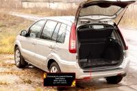 Накладка на задний бампер Ford Fusion 2005-2012