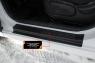 Накладки на внутренние пороги дверей Hyundai Solaris хэтчбек 2014-2016 (l рестайлинг)
