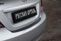 Накладка на задний бампер Hyundai Solaris седан 2010-2014 (l дорестайлинг)
