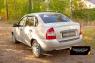 Накладка на задний бампер Lada (ВАЗ) Kalina (седан) 2004-2013