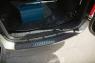 Накладка на задний бампер (вар.2) Lada (ВАЗ) Largus фургон 2012-