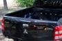 Накладка на задний откидной борт со скотчем 3М Mitsubishi L200 2015-