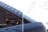 Комплект накладок на боковые борта и задний откидной борт без скотча Nissan Navara 2011-2015