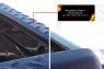 Накладки на боковые борта со скотчем 3М Nissan Navara 2011-2015
