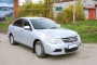 Накладки на ковролин порогов Nissan Almera 2014-