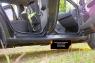Накладки на внутренние пороги дверей (Вариант 2) Nissan Terrano 2014-2015