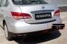 Накладка на задний бампер Nissan Almera 2014-
