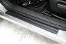 Накладки на внутренние пороги дверей Nissan Qashqai 2011-2014