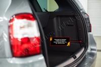 Накладки на боковые стойки багажника Nissan Terrano 2016-