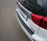 Накладка на задний бампер Peugeot 4007 2007-2013