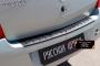 Накладка на задний бампер Renault Logan 2004-2010