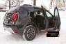 Накладки на ковролин порогов Renault Duster 2015- (I рестайлинг)