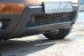 Накладка переднего бампера (аэродинамический обвес) усиленный Renault Duster 2010-2014 (I поколение)