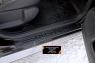 Накладки на внутренние пороги дверей Вариант 2 Renault Duster 2015- (I рестайлинг)
