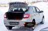 Защитный комплект(Накладка на порожек багажника и Внутренняя обшивка задних фонарей) Renault Logan 2014-2017 (II дорестайлинг)