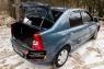 Накладка на порожек багажника Renault Logan 2010-2013