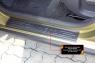 Накладки на внутренние пороги дверей Renault Sandero Stepway 2014-