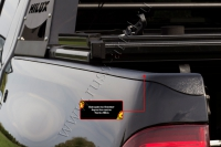 Накладки на боковые борта без скотча Toyota Hilux 2015-