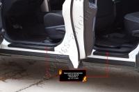 Накладки на внутренние пороги дверей Toyota Rav4 2015-