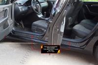 Накладки на внутренние пороги дверей Volkswagen Passat В7 (седан) 2011-2015