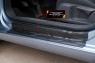 Накладки на внутренние пороги дверей Volkswagen Golf VI 2009-2012