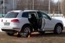 Накладки на внутренние пороги дверей Volkswagen Touareg 2014-2017