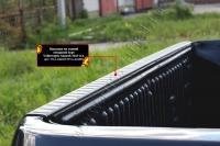 Накладка на задний откидной борт без скотча Volkswagen Amarok 2010-2016 (I дорестайлинг)