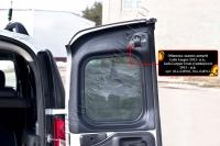 Обшивка задних дверей без скотча Lada (ВАЗ) Largus Cross (универсал) 2015-