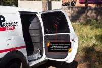 Внутренняя обшивка боковых дверей грузового отсека со скотчем 3М Lada (ВАЗ) Largus фургон 2012-